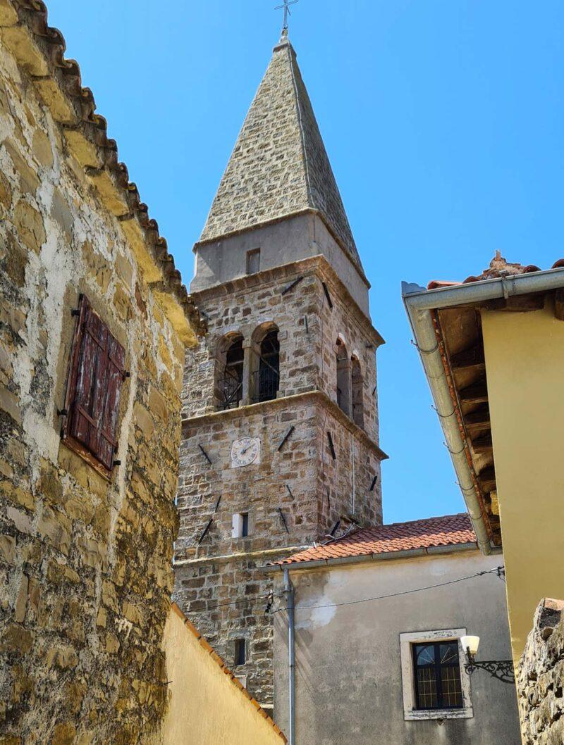 Zvonik v Padni - Istra