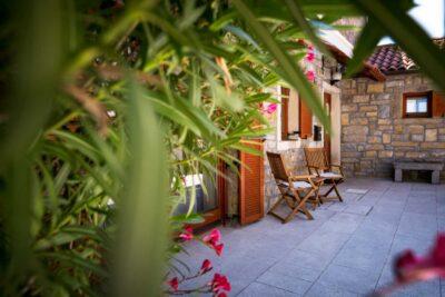 Dvorišče Istrske hiše Padna