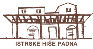 Istrske hiše Padna logo