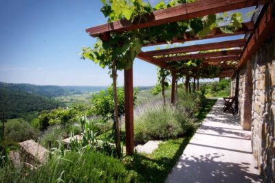 Pogled v dolino - Padna